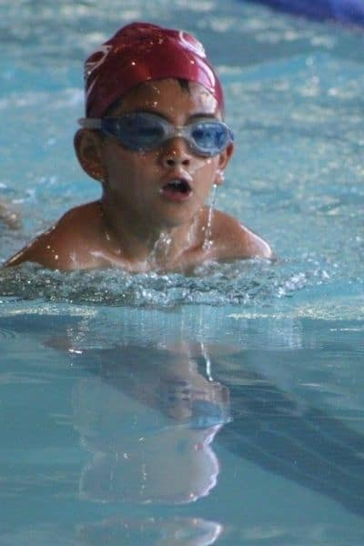 Learn to swim is 1 of the greatest gifts